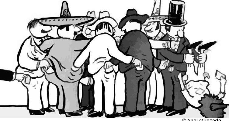 Cristina Puga, Escepticismo, corrupción y desgaste político. Ilustración: Abel Quezada